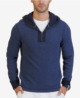 Nautica Men's Big & Tall Active Fit Quarter-Zip Hoodie