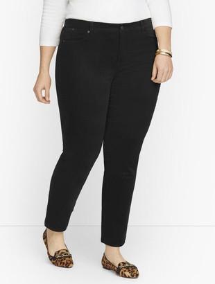 Talbots Plus Size Exclusive Stretch Corduroy Slim Leg Ankle Pants