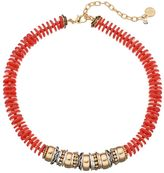 Dana Buchman Two Tone Beaded Disc Necklace