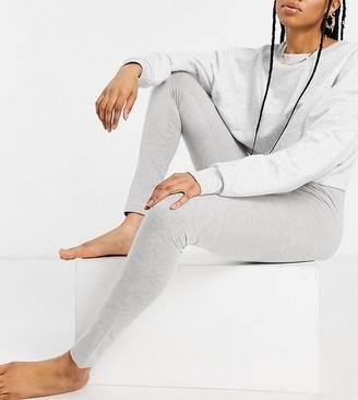 Asos Tall ASOS DESIGN Tall mix and match jersey pyjama leggings in grey marle