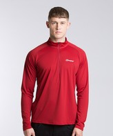 Berghaus Tech Long Sleeved Zip Neck T-Shirt