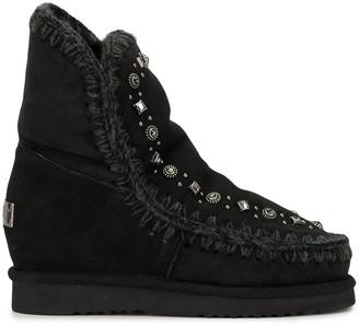 Mou Embellished Stud Boots