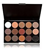 DATEWORK 15 Colors Cosmetic Makeup Neutral Nudes Warm Eyeshadow Palette