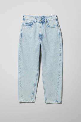 Weekday Meg High Mom Jeans - Blue