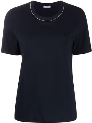 Peserico silk collar T-shirt