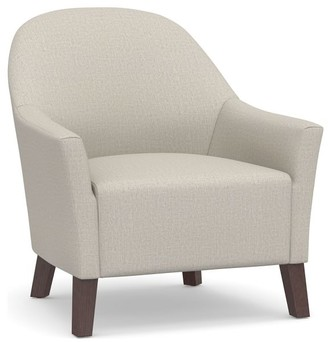 Pottery Barn Scoop Upholstered Armchair