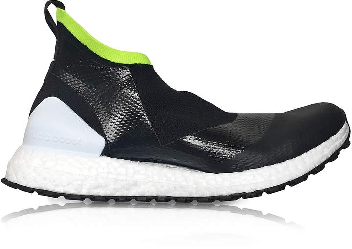 info for 2ed8c e0e48 Adidas UltraBOOST X ATR44 Black and Lime Women's Sneakers