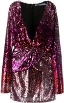 Amen embroidered mini dress