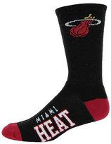 For Bare Feet Miami Heat Deuce Crew Socks