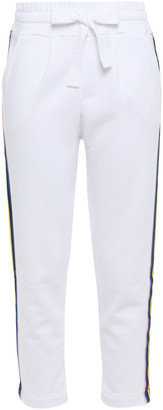 Chinti and Parker Dreamer Striped Cotton-jersey Track Pants