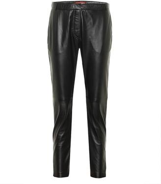 Altuzarra Henri high-rise leather pants