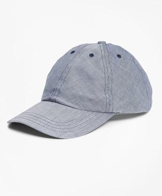 Brooks Brothers Chambray Baseball Hat