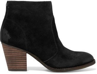 Sam Edelman Mari Burnished-suede Ankle Boots