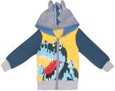 C.Cute CCute Little Boys Cartoon Animal Dinosaur Jacket Hoodies Coat Outerwear