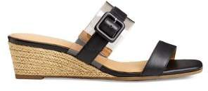 Aerosoles Network Leather Espadrille Wedge Sandals