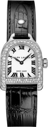 Ralph Lauren Mini Steel & Diamond