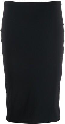 Patrizia Pepe Jersey Pencil Skirt
