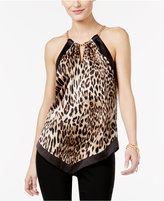 Thalia Sodi Animal-Print Halter Top, Only at Macy's