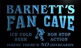 AdvPro Name td1275-b nett's Basketball Fan Cave Man Room Bar Beer Neon Light Sign