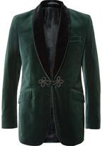Favourbrook - Two-tone Cotton-velvet Tuxedo Jacket