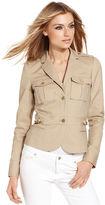 MICHAEL Michael Kors Jacket, Military Blazer