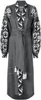 Yuliya Magdych - 'Royal Garden' dress - women - Linen/Flax - S