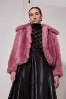 Boutique **pink crop jacket