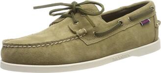 Sebago DOCKSIDES Men's Boat Shoes Brown / sand suede 7.5 UK(41.5 EU)