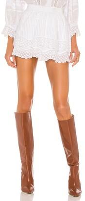 LoveShackFancy Toya Skirt