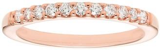 Evergreen Diamonds 14k Gold 1/2 Carat T.W. IGL Certified Lab-Grown Diamond Wedding Band