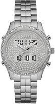GUESS Women's Analog-Digital Stainless Steel Bracelet Watch 38mm U0817L1, a Macy's Exclusive Style