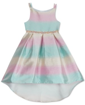 Rare Editions Toddler Girls Ombre High-Low Dress