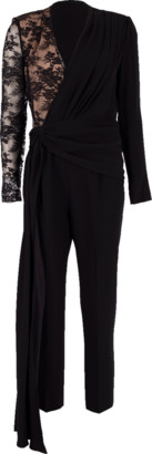 Givenchy Lace Sleeve Jumpsuit