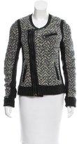 Rag & Bone Leather-Accented Wool Jacket