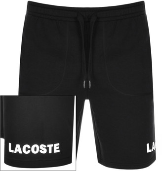 Lacoste Sweat Shorts Black