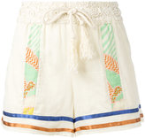 Semi-Couture Semicouture - striped shorts - women - Cotton - 38