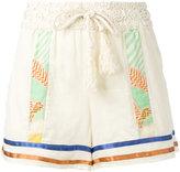 Semi-Couture Semicouture striped shorts