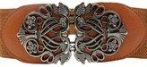 Franterd® Fashion Accessories Alloy Flower Vintage Leather Belt