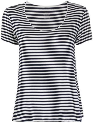 Majestic Filatures stripe print T-shirt