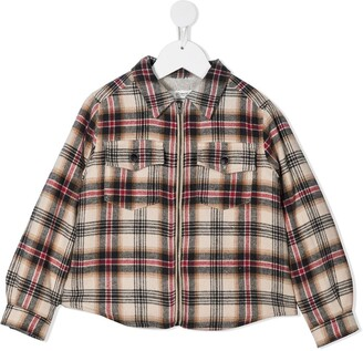 Bonpoint Farwest plaid shirt