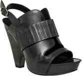 Max Studio Nelson - Polished Calf Demi Wedge Sandals