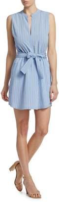 A.L.C. Merritt Sleeveless Tie Waist Dress
