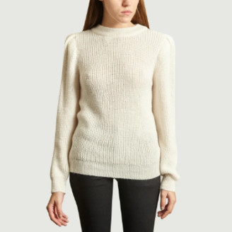 IRO Paris Paris - Ecru Acrylic and Alpaca Hobson Sweater - s | ecru | Acrylic / Alpaca - Ecru
