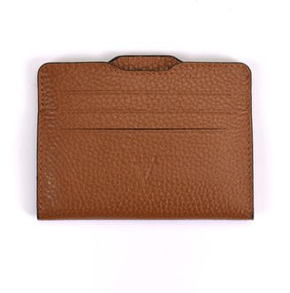 Hiva Atelier Double Card Holder Brown & Brown