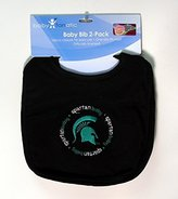 Baby Fanatic Team Color Bibs, Michigan State University, 2-Count