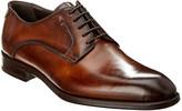 Antonio Maurizi Leather Plain Toe Oxford
