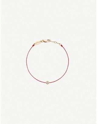 Selfridges Redline 18ct rose-gold and diamond bracelet