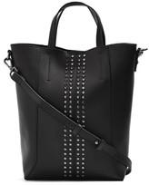 Topshop Sarah Studded Mini Tote Bag - Black