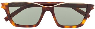 Saint Laurent Dylan rectangular-frame sunglasses