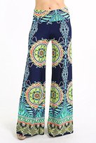 Private Label Womens Fold Over Waist Wide Leg Palazzo Pants (L, )